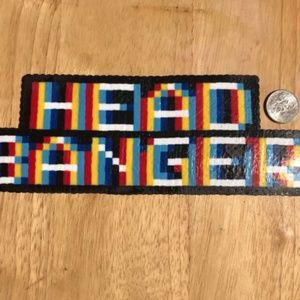 Jewelry - Trippy Headbanger Perler Kandi